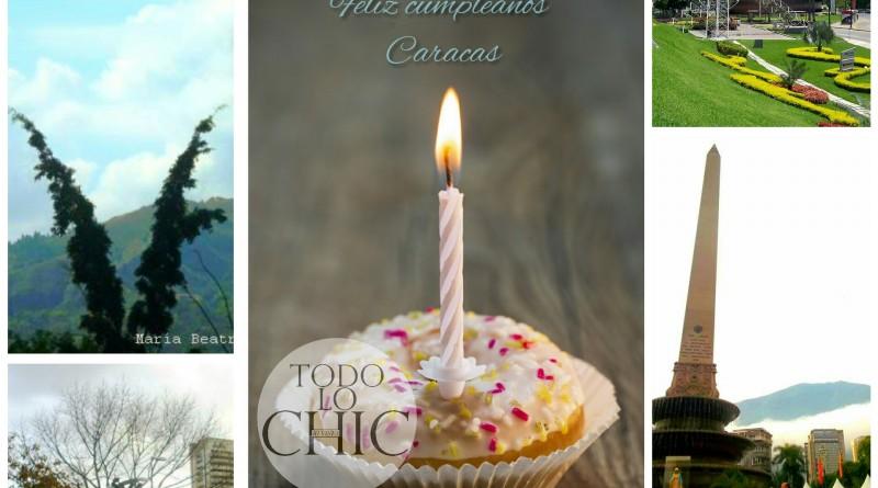 Felíz cumpleaños Caracas