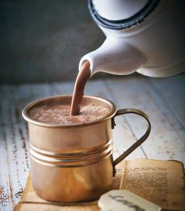 El venezolanísimo chocolate bien caliente