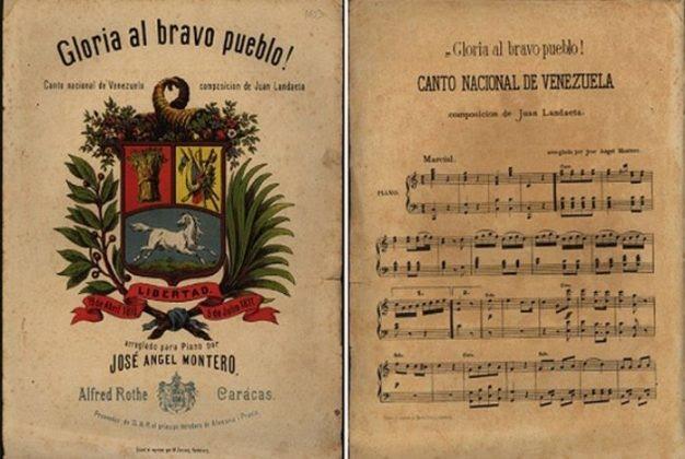 «Gloria al bravo pueblo» Día del Himno Nacional