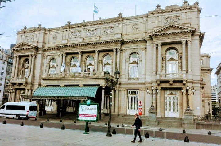 El maravilloso Teatro Colón de Buenos Aires