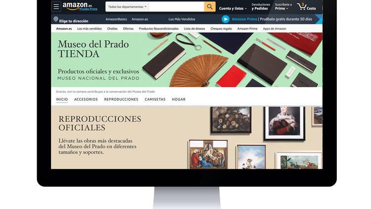 El Museo del Prado abre tienda en Amazon