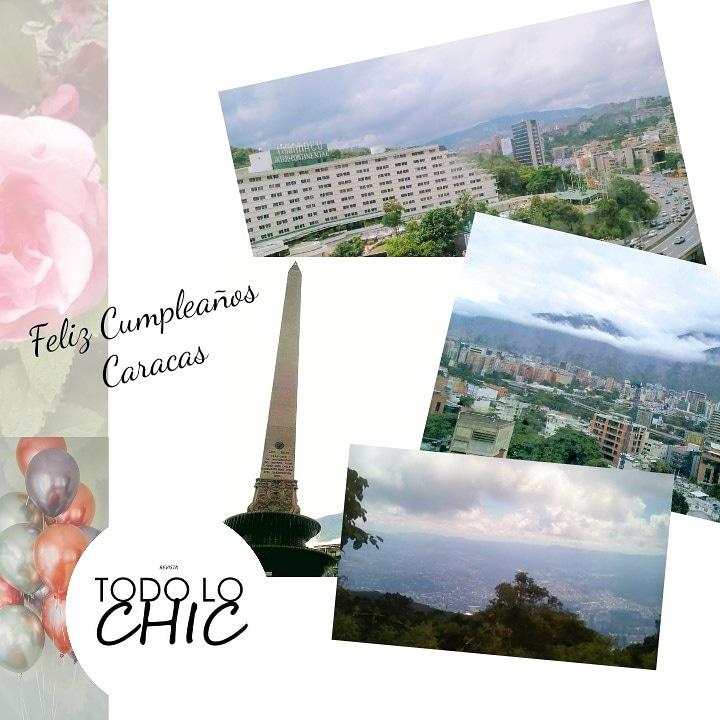 La sultana del Ávila cumple 453 años ¡Feliz cumpleaños Caracas!