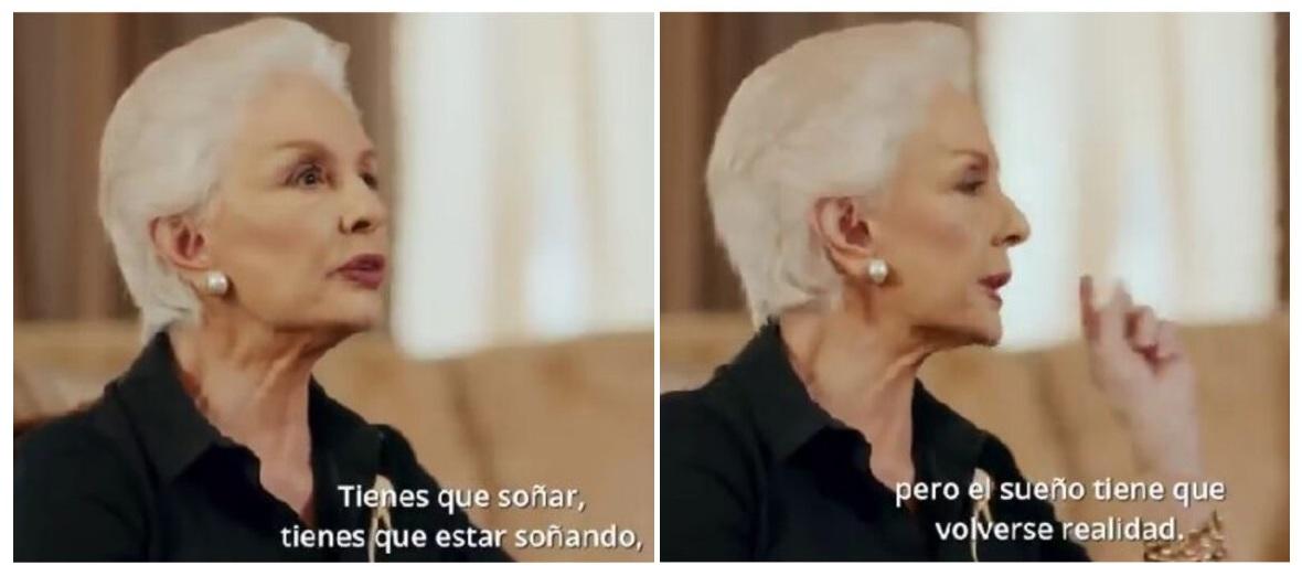 Las divinas y muy chic canas de Carolina Herrera