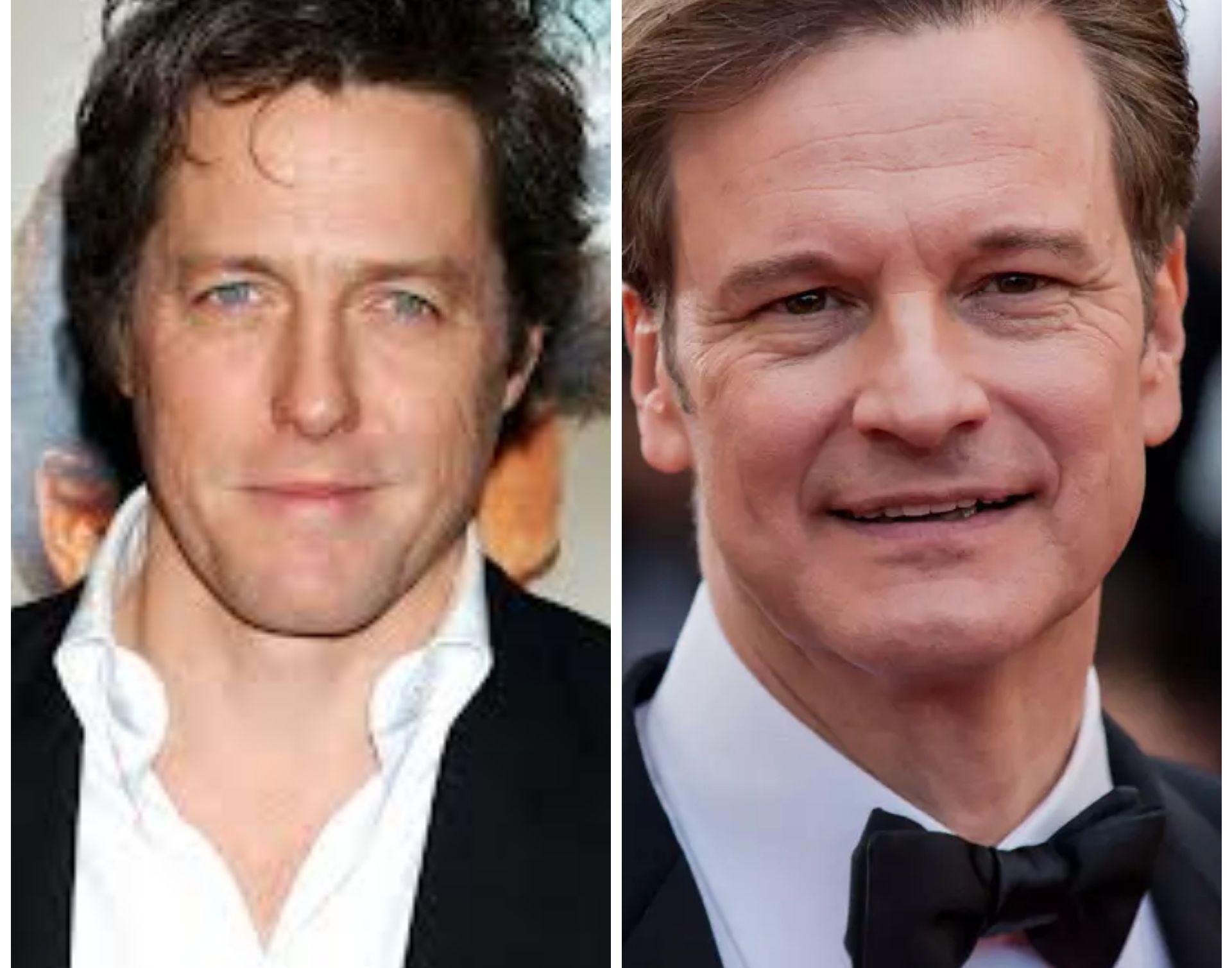 Hugh Grant y Colin Firth, los dos guapísimos galanes británicos cumplen 60 años