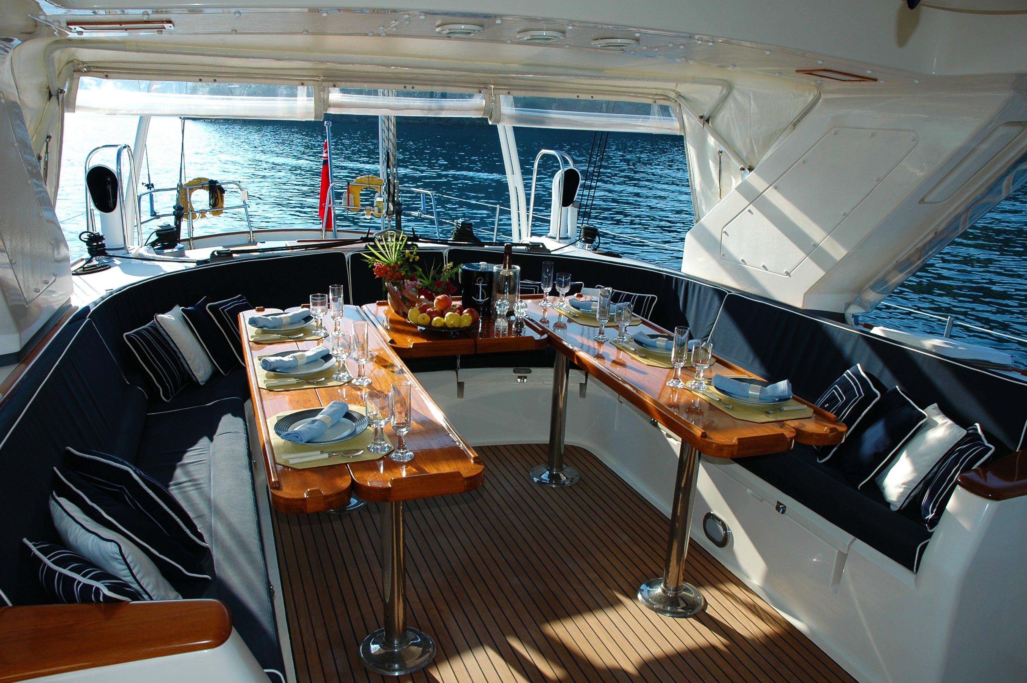 Modales a bordo, hora de comer