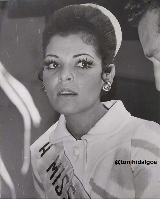 Sonia Ledezma una belleza criolla que triunfó en el Miss Venezuela 1970