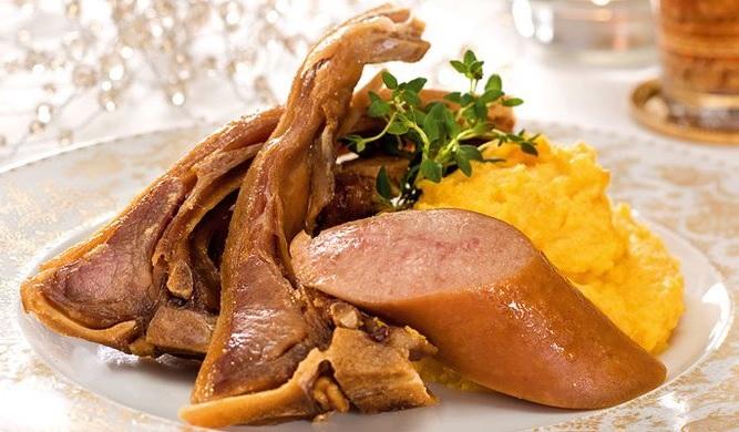Pinnekjøtt, típico plato de la Navidad en Noruega