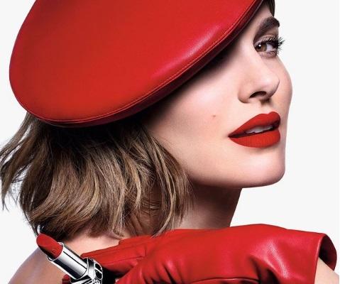 Natalie Portman para Dior Makeup ¡El chic Rouge Dior!