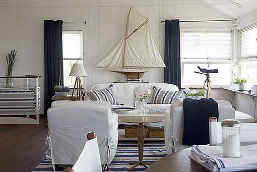 Cómo crear una sencilla decoración marinera