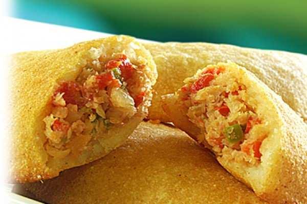 Unas divinas y venezolanísimas empanadas de cazón