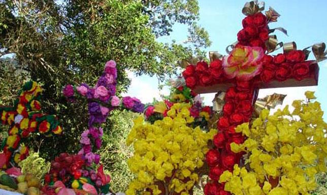 Celebrando la venezolanísima Cruz de Mayo