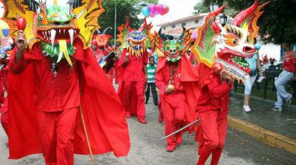 Los venezolanísimos Diablos Danzantes de Yare