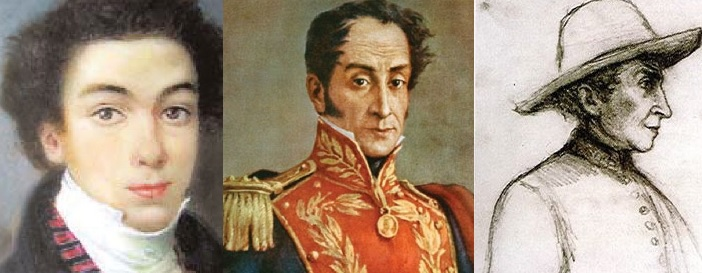 Celebrando el natalicio del grandioso Libertador Simón Bolívar