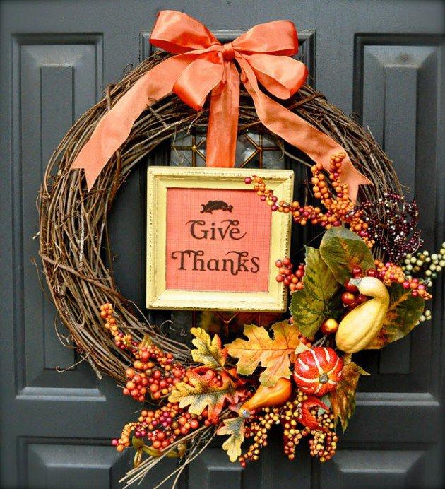 Distintas ideas para la decoración de Acción de Gracias, Thanksgiving day