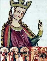 Que doloroso es amar, poesía de Leonor de Aquitania, se cree que es la autora de este poema , una mujer única en el siglo XII.