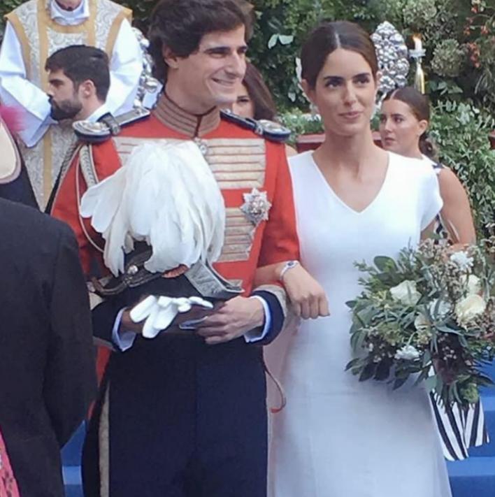 Fernando Fitz-James Stuart y Sofía Palazuelo ya son marido y mujer