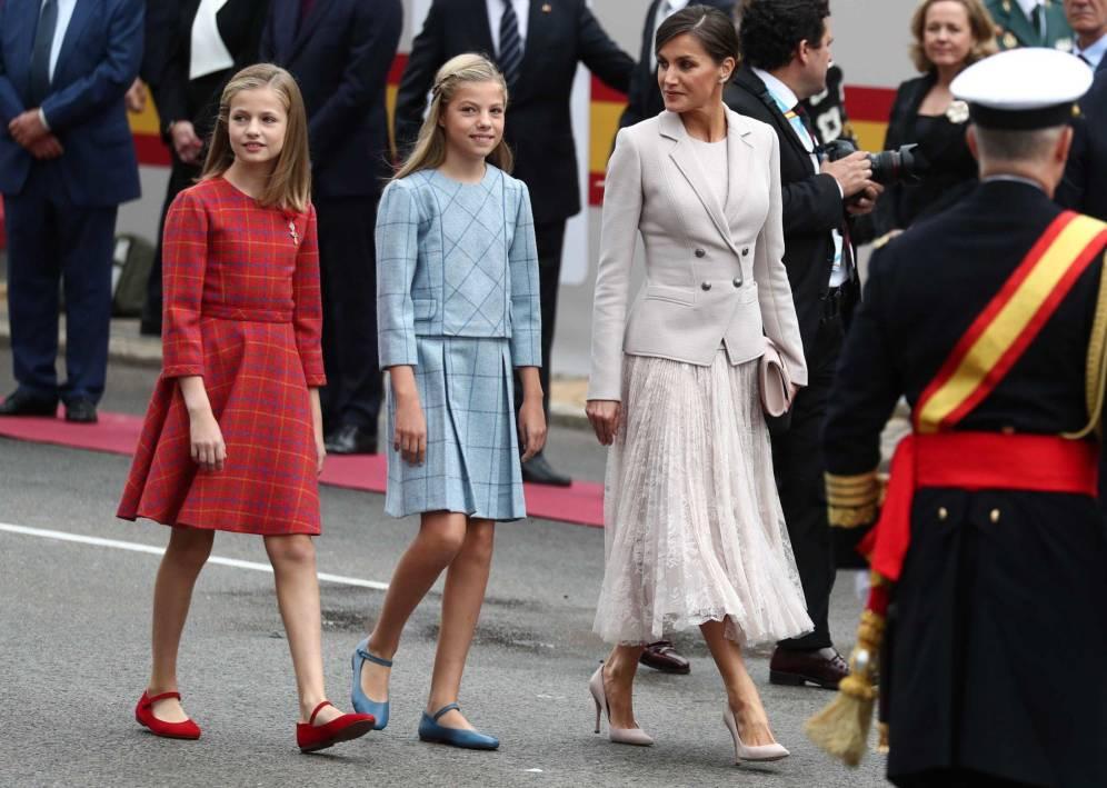 Letizia y su look del Día de la Hispanidad