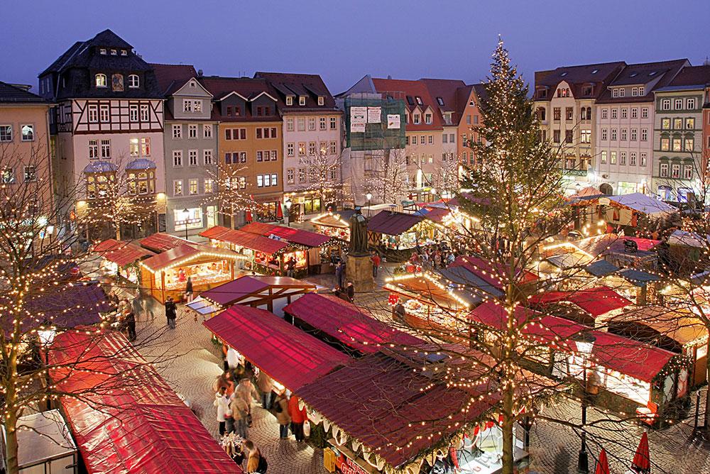 El mercadillo navideño de Estrasburgo, un de los más antiguos