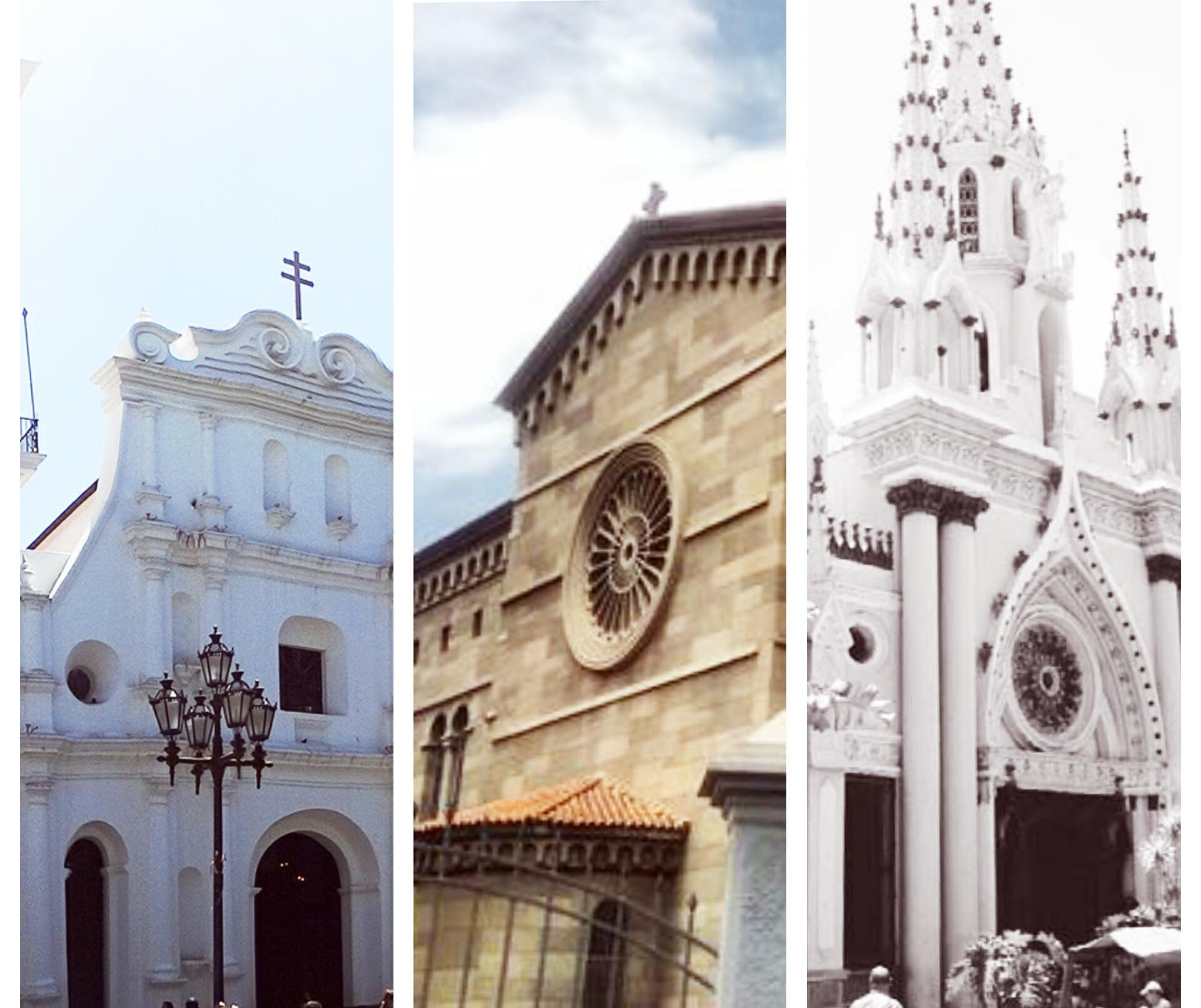 La tradicional visita de los 7 Templos a través de la historia de 7 Iglesias de Caracas