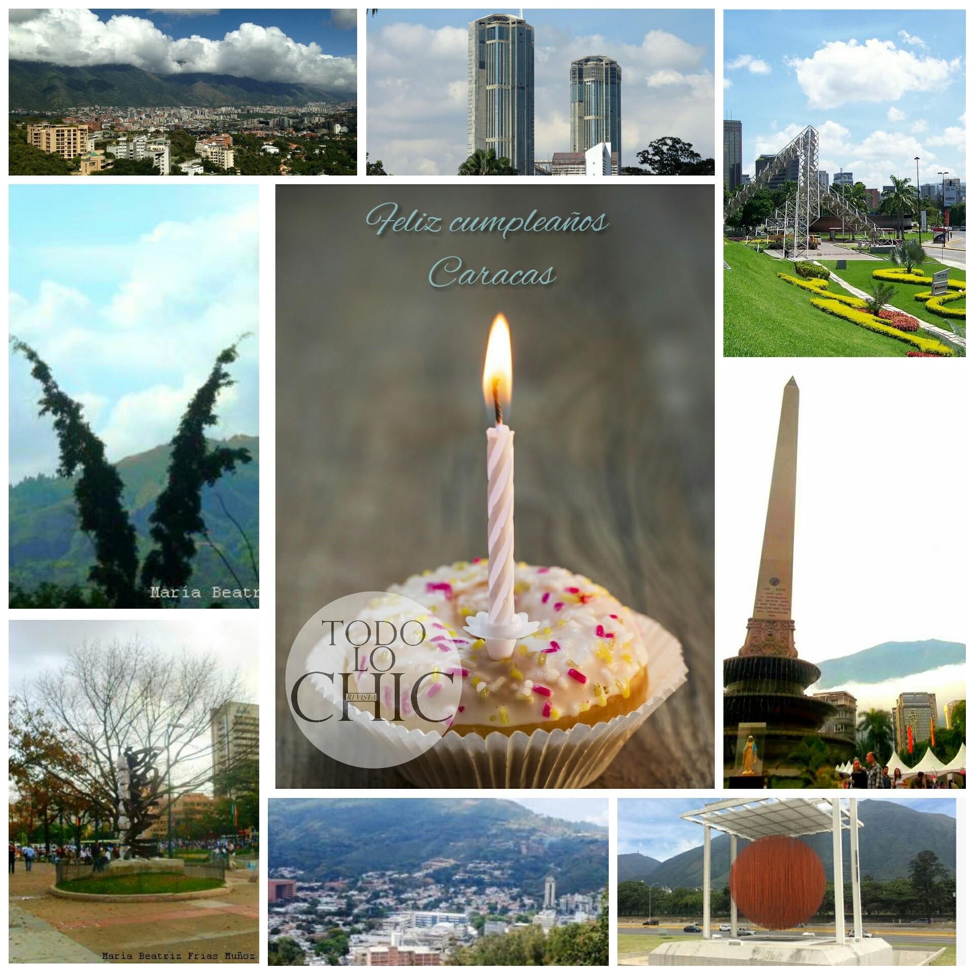 ¡Caracas de cumpleaños! ¡Felices 452! La Sucursal del cielo