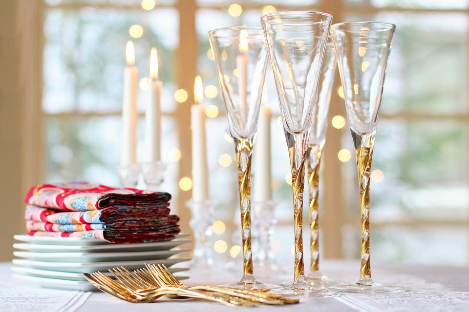 Tips para decorar chic la mesa de Año Nuevo