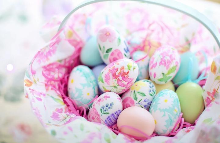 Formas chic de decorar huevos de Pascua