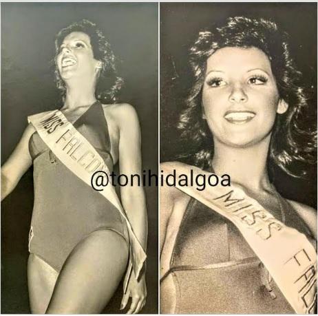 Mildred Galicia de Miss Cupido a Miss Falcón 1975 por Tony Hidalgo