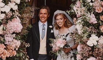 La chic e íntima boda de la princesa Beatriz