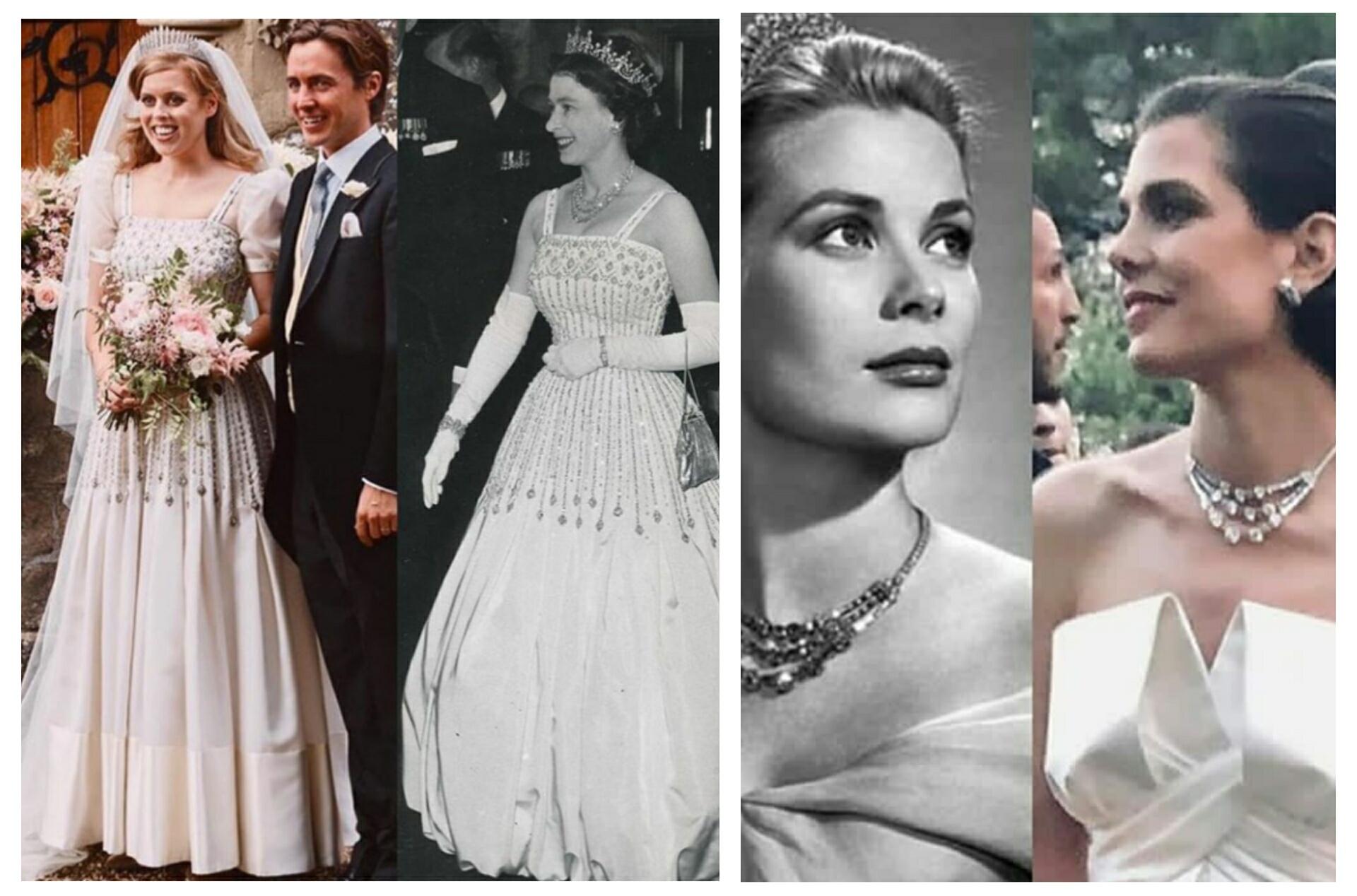 Los guiños a las abuelas en las bodas royal chic