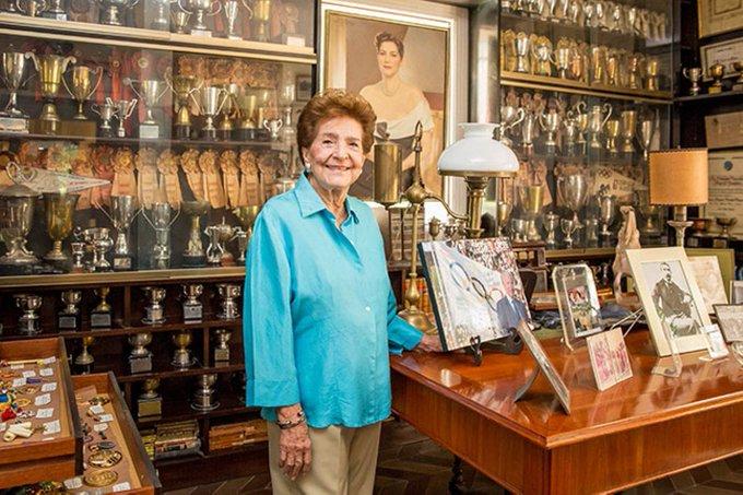 Falleció Flor Isava-, la 'Dama del Olimpismo Venezolano'