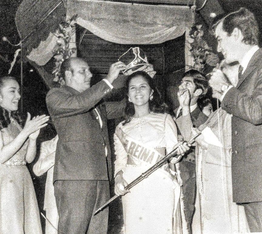 Morella Chacón de Reina de Ferias a Miss Táchira 1970