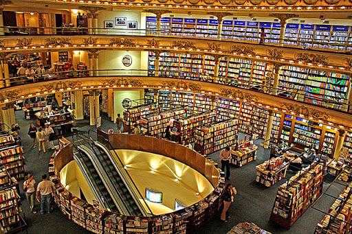 Buenos Aires, ciudad de grandiosas librerías