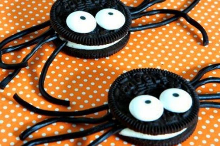 Arañas y murciélagos de chocolate para un Halloween muy dulce
