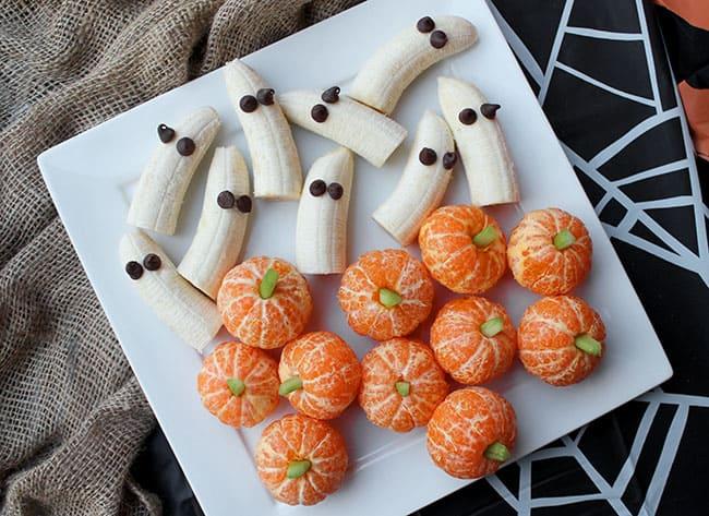 Un postre de Halloween muy sano y frutal