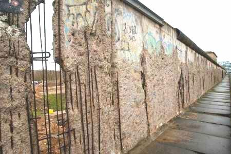 La caída del Muro de Berlín, el muro de la vergüenza