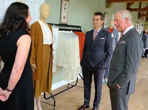 La línea ecológica de moda de la fundación del príncipe Charles