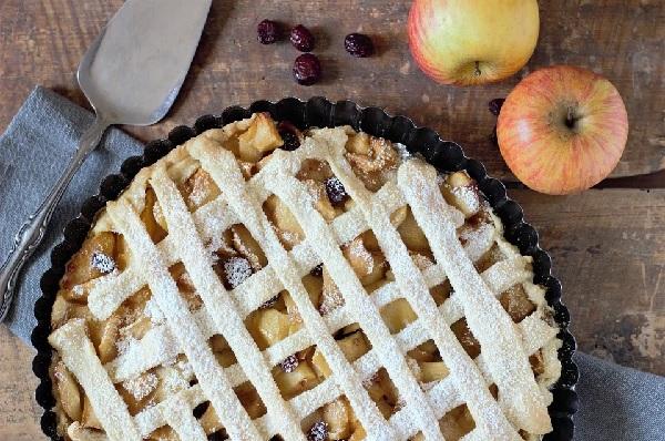 Un kuchen de manzana  que te hará agua la boca