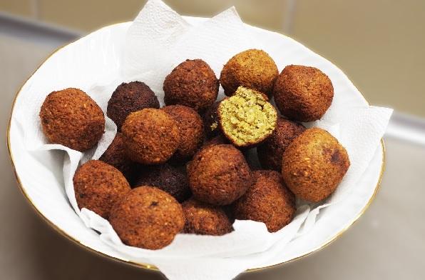 La receta de los divinos falafel