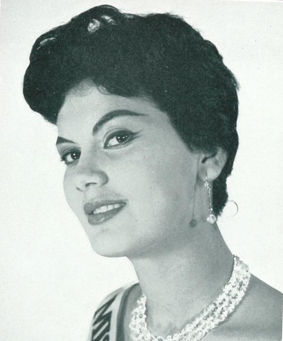 Aura Rodríguez, Miss Venezuela Mundo 1960, ausente en Londres
