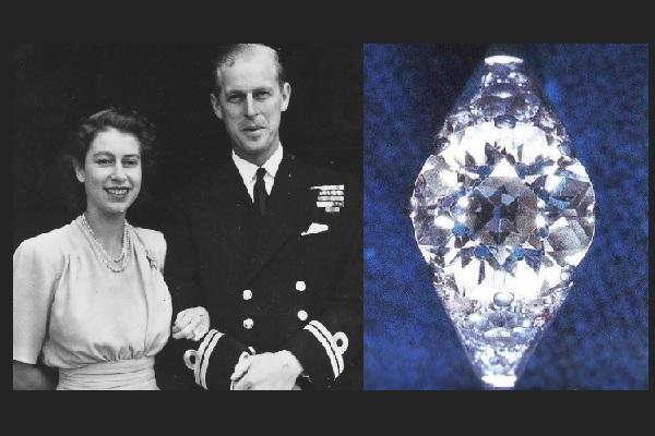 De tiara a anillo de compromiso, la historia de la sortija de Elizabeth II