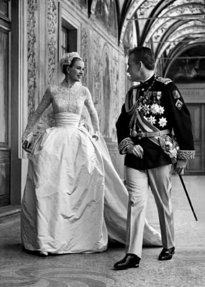 Grace Kelly y Rainiero de Mónaco, 65 años de la boda de «cuentos de hadas»