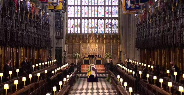 Así se llevó a cabo el funeral del Duque de Edimburgo