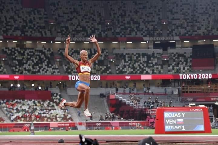 ¡Yulimar la chica de oro! Yulimar Rojas medalla de oro en Tokio
